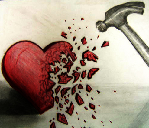 Oh, it's just you Broken Heart. I've been waiting for you to showup💔